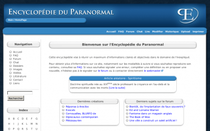 Encyclopedie du paranormal