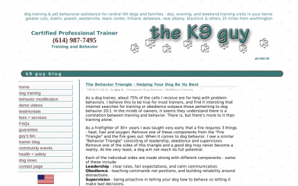 Dog Trainer Blog