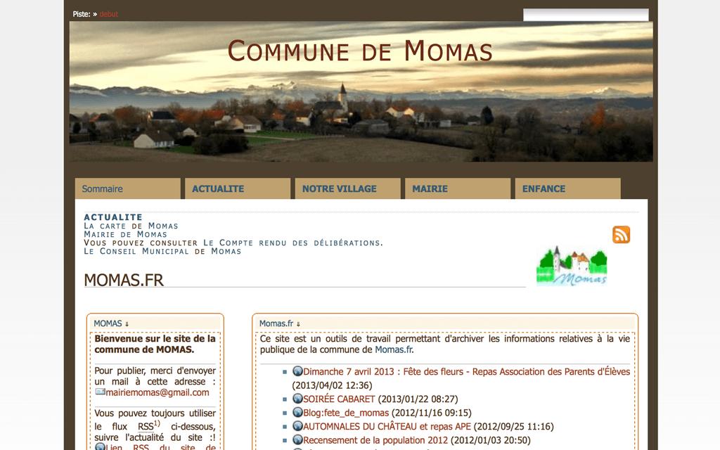 Commune de Momas