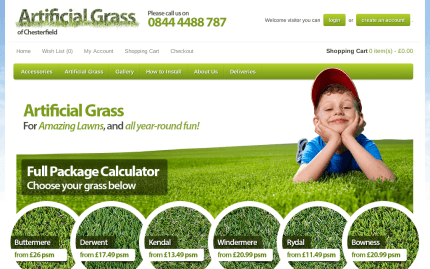 Artificial Grass of Chesterfield