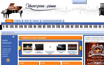 Vanzari piane