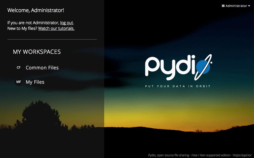 Alojamiento Pydio