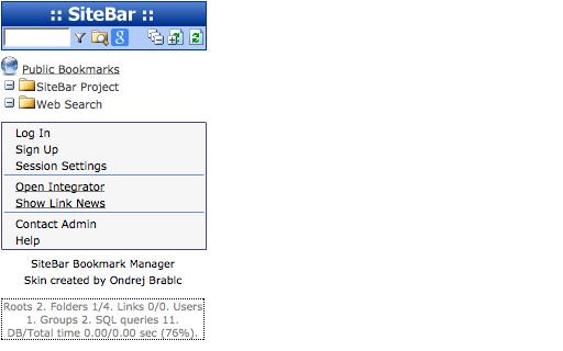 Alojamiento SiteBar