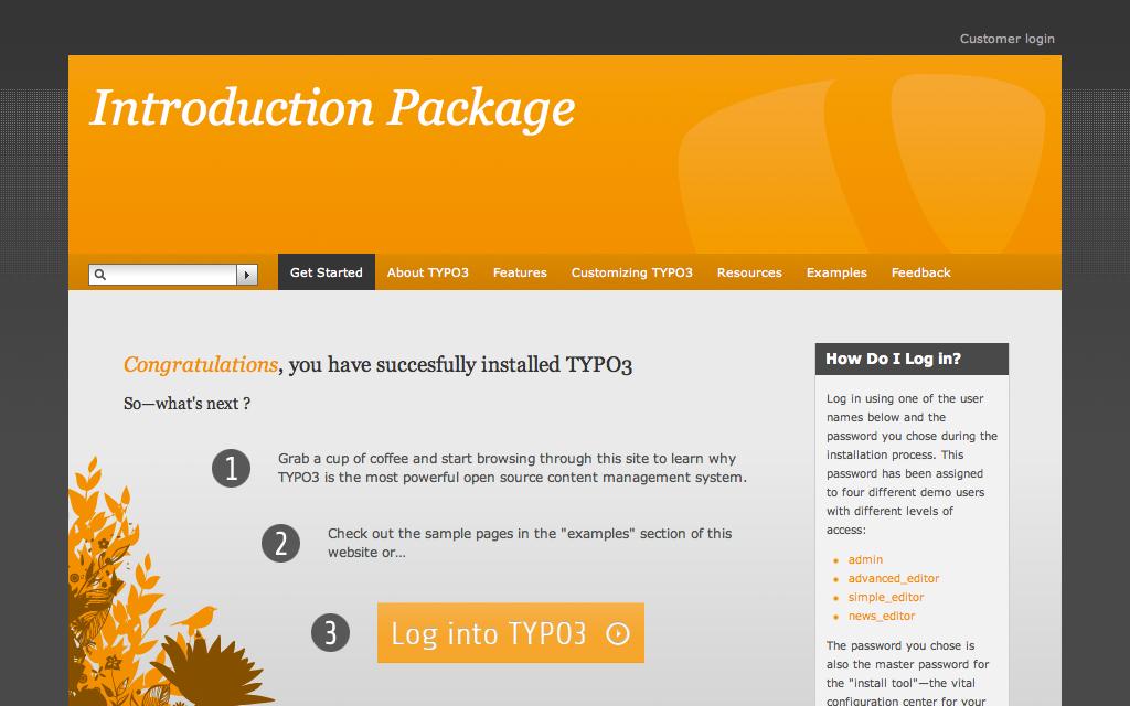 Hosting TYPO3