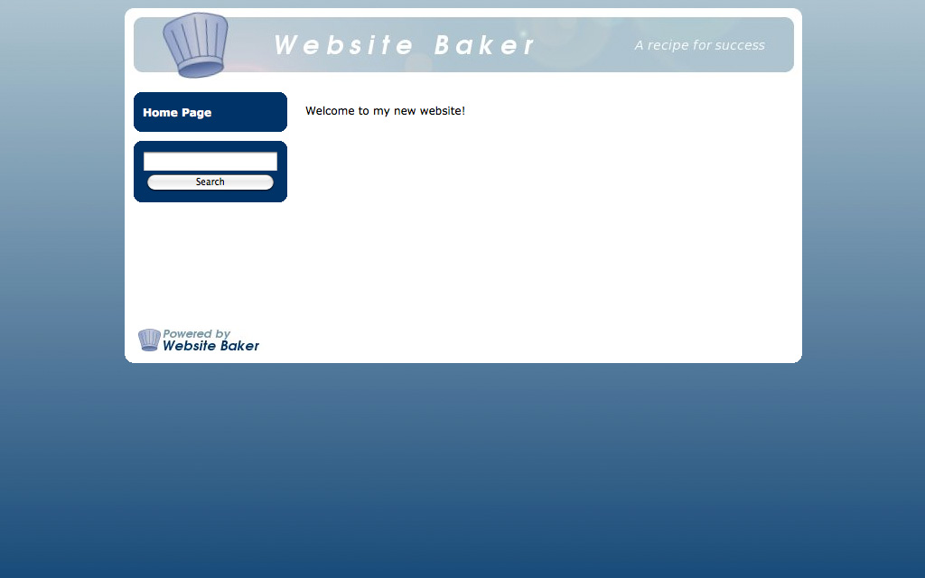 Hébergement WebsiteBaker