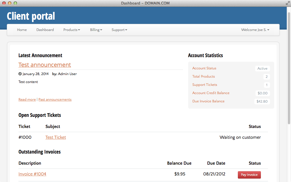 Hosting ClientExec