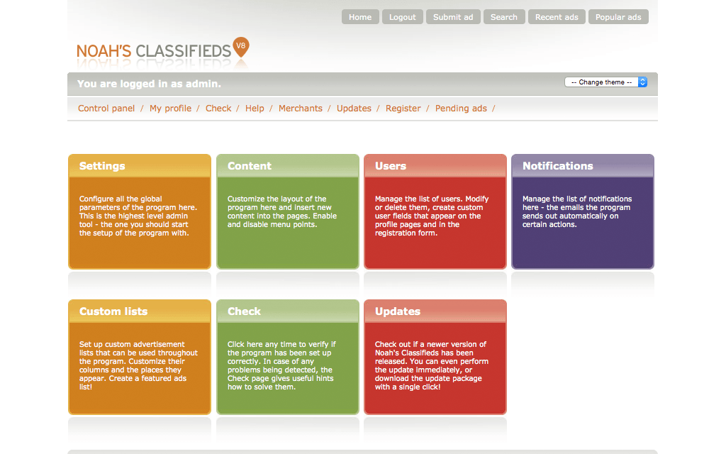 Hosting Quicksell Classifieds